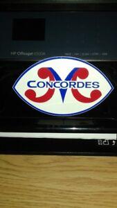 Montreal Concordes Vintage Football Sticker