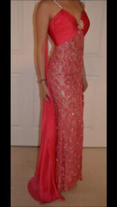Sherri hill pageant dress prom chiffon $2,900 REG! S 2-4 jovani