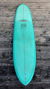 "9'6"" Gordon and Smith Glider Longboard Surfboard"
