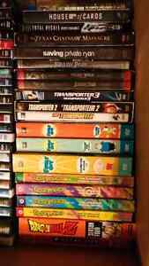 DVD and Blu-Ray Seasons and collections