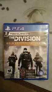 Tom Clancy The division, gold edition PS4