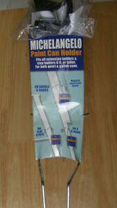 MICHELANGELO PAINT CAN HOLDER FOR LADDERS - NEVER USED
