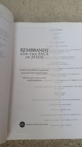 REMBRANT AND THE FACE OF JESUS SOFT COVER TABLETOP BOOK London Ontario image 3