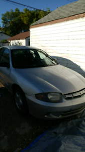 2003 chevy cavalier parts/driving car