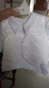 Baptism or Christening Outfit for a Boy