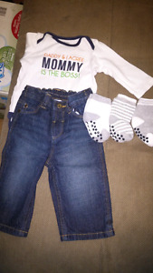 Boy 3-6 month outfit
