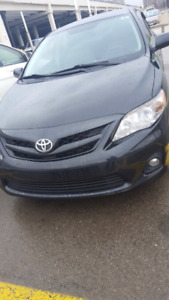 2011Toyota Corolla accident free..finance available