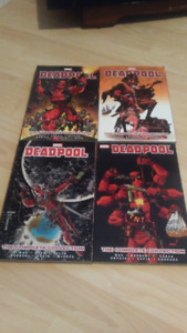 Bandes Dessinés Deadpool (anglais)