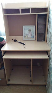 2 really nice computer desks ,just the right size also alot more