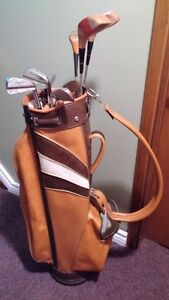 LADIES. GOLF CLUBS & BAG