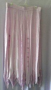 Pinky Mauve pointed skirt
