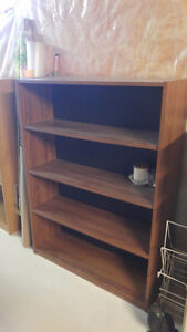 bookcase  2 available REDUCED 25.00 each