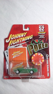 JOHNNY WHITE LIGHTNING 1967 TOYOTA 2000 GT CONVERTIBLE DIECAST