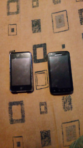 iPod touch gen 3 and/or Motorola phone for parts or tinker