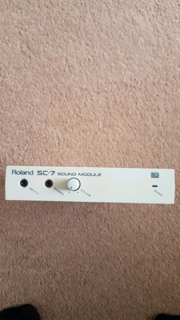 Roland SC-7 sound module | in Cheltenham, Gloucestershire | Gumtree