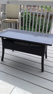patio granite coffee table