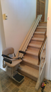 5 and 7 stair chair lift