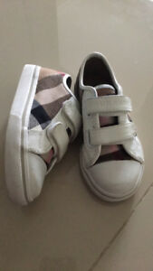 Burberry Kids Shoes size 26. Worn possibly 5 times .