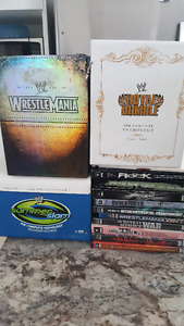 lot de dvd a vendre wwe dvd