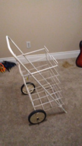 Large Laundry, Grocery or Carrying Cart