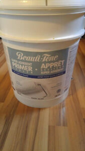 new bucket of primer$100.00 firm for use on all surfaces located