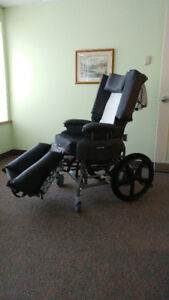 Broda tilt and recline wheelchair in excellent condition