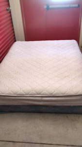 Delivered queen size bed