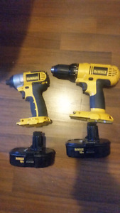 Dewalt 18v drill and driver combo kit