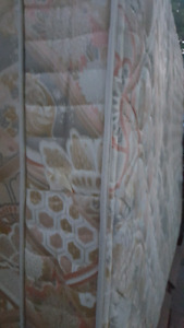 Double size mattress and box spring (free delivery)