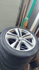 EX 37 Infinity Original Rims with Tires. Good Shape! Low Price!