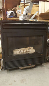 Natural Gas Direct Vent Fireplace