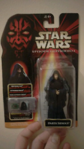 Star Wars Action figures collection New mint