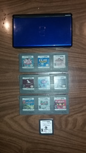 Nintendo DS Lite & 10 Games