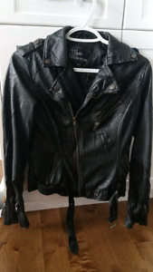 Urban Behavior Faux Leather Biker Jacket