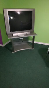 """36"""" Tv & stand"""