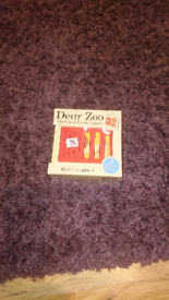 Zoo Book and Puzzle Blocks