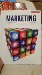 Marketing Textbook - MKT 2210 - $80 OBO - Will even deliver!
