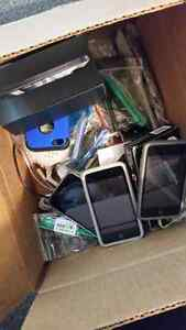 Broken Apple Devices Lot and More