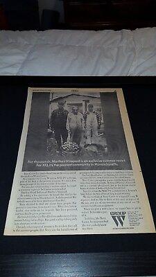 Wbz Tv Massachusetts Rare Original 1968 Promo Poster Ad Framed