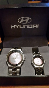 HYUNDAI His&Her matching watches
