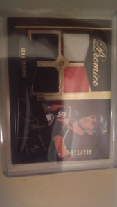John Tavares Rookie Card Auto Patch