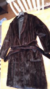Fur Coat, Mink (Size 10-12)