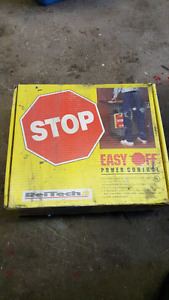 Easy off safety panel