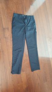 H&M black pants, size 30R