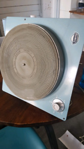 Mccurdy radio industries vintage turntable