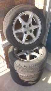16x6 wheels and tires offset 45 - 4 bolt - 4×114.3