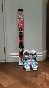 Rossignol Hero JR Skis and Boots Package for sale