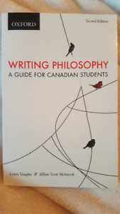 Writing Philosophy A Guide for Canadian Students