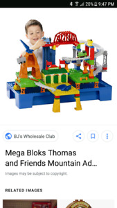 Thomas train mega blocks set