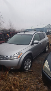 2004 nissan murano complete part out **PARTS**